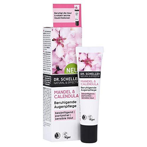 Dr. Scheller Mandel & Calendula - Beruhigende Augenpflege für sensible Haut, vegan, 15 ml, 55878