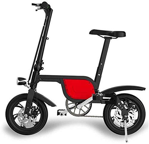 electric bicycle Opvouwbare elektrische fiets, aluminiumlegering, mini-frame en kleine opvouwbare lithiumbatterij, draagbaar, voor mannen en vrouwen