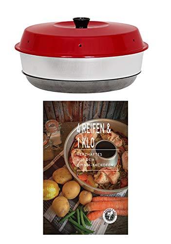 4Reifen1Klo Omnia Backofen 2-teiliges Spar-Set | Omnia Backofen + Herzhaftes Kochbuch