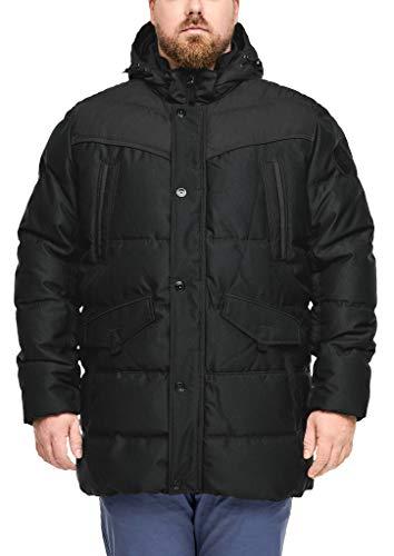 s.Oliver Big Size Herren 28.910.51.2414 Jacke, Grau (Charcoal 9897), XXXX-Large (Herstellergröße: 4XL)