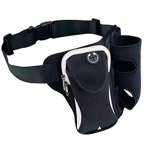 DKEE Outdoor Backpack CÁMARA Casa Práctico Simple Multifuncional Unisex Correr Deportes Al Aire Libre Botella De Agua Bolsa De Cintura Vacaciones