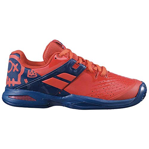 BABOLAT Propulse Clay Junior, Zapatillas de Tenis, Geraldine/Blue, 37 EU