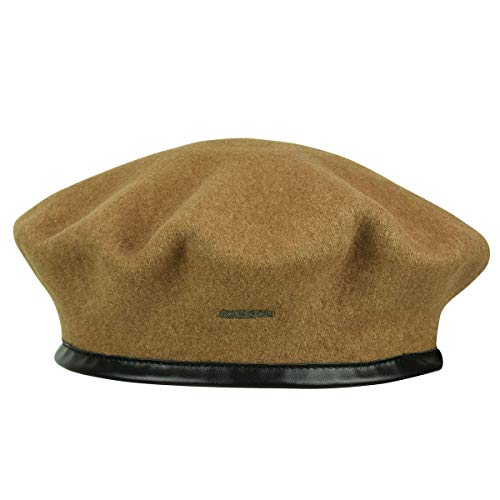 Kangol MONTY Wool Beret Wood, X-Large
