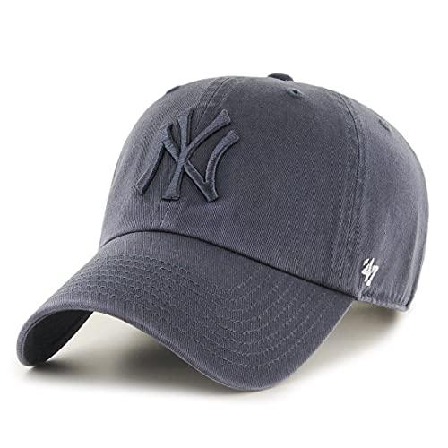 47 Brand MLB New York Yankees Clean Up Cap - Vintage Navy