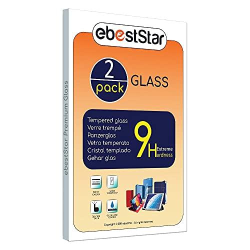 ebestStar - [Pacco x2 Vetro Temperato Compatibile con Samsung Galaxy Tab S7+ SM-T970 Protezione Schermo Pellicola, Anti Shock Anti Rottura Anti graffio [Tab S7+: 285 x 185 x 5.7 mm, 12.4  ]