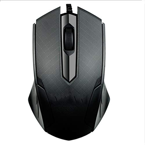 Uzinb Inal/ámbrica de 2,4 GHz Cordless Mouse 4 Botones de PC Ordenador port/átil Rat/ón /óptico inal/ámbrico Trabajo