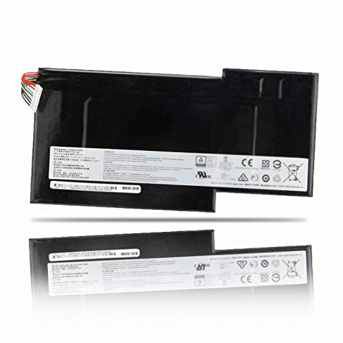 SUNNEAR Replacement Laptop Battery 11.4V 64.98Wh 5700mAh BTY-M6J for MSI GS63 GS63VR GS73 GS73VR 6RF-001US BP-16K1-31 BTY-U6J Series Notebook Compatible BTY-U6J BTY-M6J