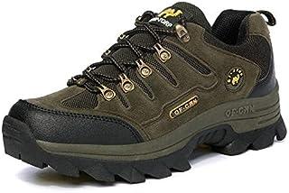 أحذية المشي لمسافات طويلة - أحذية مشي عالية الجودة كبيرة الحجم برو-ماونتن في الهواء الطلق الرجال الرياضة الرحلات، أحذية ال...