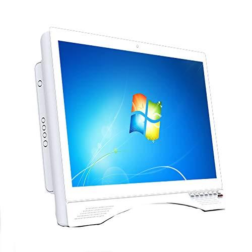 HBHHB Pc para Juegos Todo En Uno, Ordenadores Todo En Uno De 22', Ordenador De Sobremesa Todo En Uno I3-8100, Memoria De 8 GB, SSD De 1T, Varios Orificios De Refrigeración