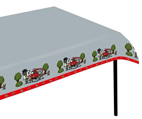 Tib Feuerwehr-Tischdecke, Größe: 120 x 180 cm.