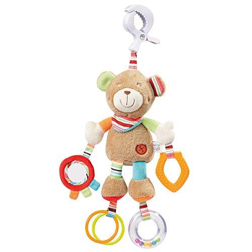 Fehn 091878 - Pupazzetto a forma di orso, con clip