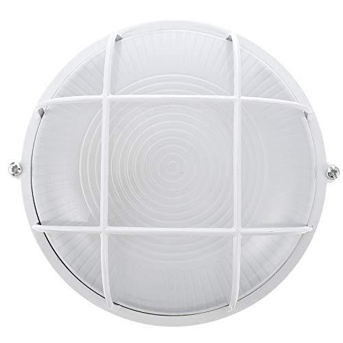 Cabilock Luz de La Sala de Sauna Rejilla de Seguridad Luz de Techo de Pared Mamparo Luz a Prueba de Humedad de Temperatura Anti-Alta Adecuada para Dormitorio Sala de Sauna Almacén Piscinas