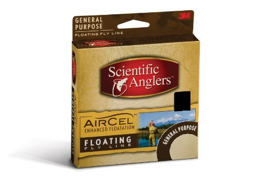 Scientific Anglers Air Cel 5-Forward Floating Level Fly Line (Green) by Scientific Anglers