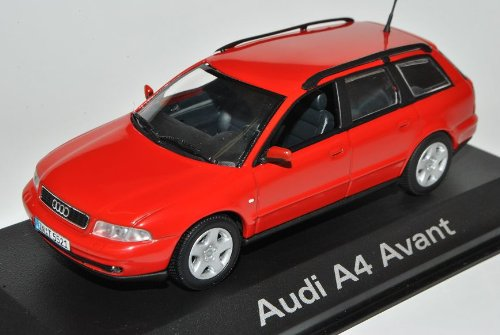 Minichamps A-U-D-I A4 B5 Rot Kombi Avant 1994-2001 1/43 Modell Auto