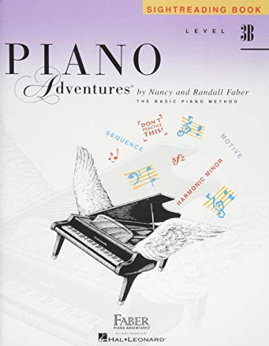 Level 3B - Sightreading Book: Piano Adventures