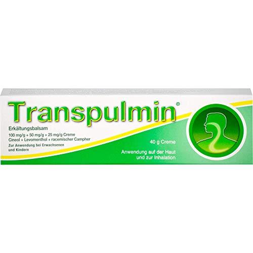 Transpulmin Erkältungsbalsam, 40 g Creme