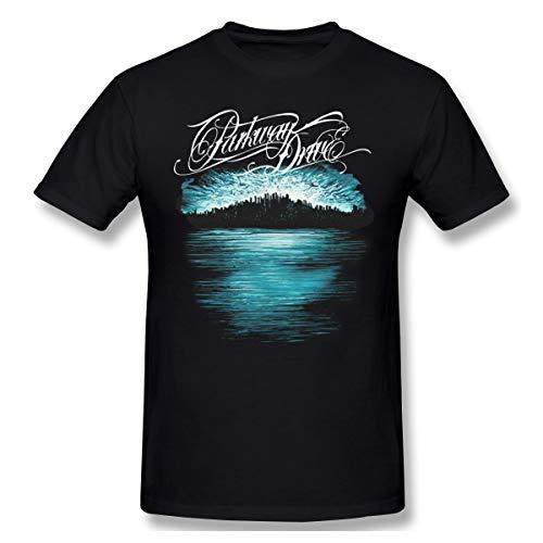 QmatSet Parkway Drive - Deep Blue Skyline Herren Klassisch T-Shirt Black 3XL
