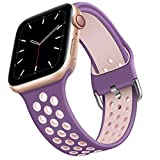 Correa de silicona deportiva para Apple Watch 6 44mm 40mm Accesorios de correa de silicona   para Apple Watch Se 5 4 3 2 42mm 38mm Hebilla