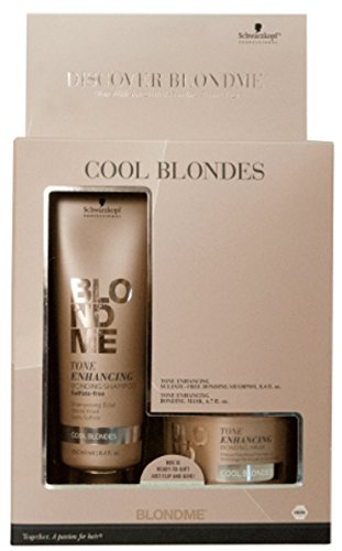 Schwarzkopf BlondMe - Bond With Me Shampoo & Mask for Cool Blondes