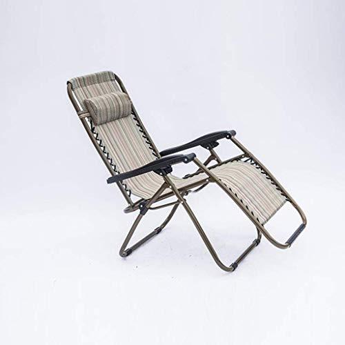 BPDD Tumbona Silla de jardín Zero Gravity Respaldo Ajustable Plegable Tumbona Relajante Tumbona Silla de jardín reclinable Silla de Playa