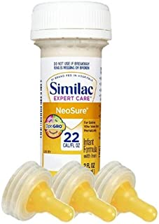 Similac Expert Care Neosure Baby Formula - Nursers - 2 Fl Oz (Case of 48) with 6 Nipples