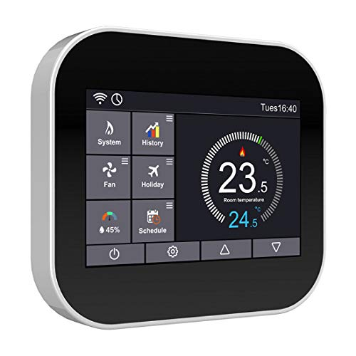 Wall Mounted Digital Modbus RTU/TCP Modulating Room Thermostat