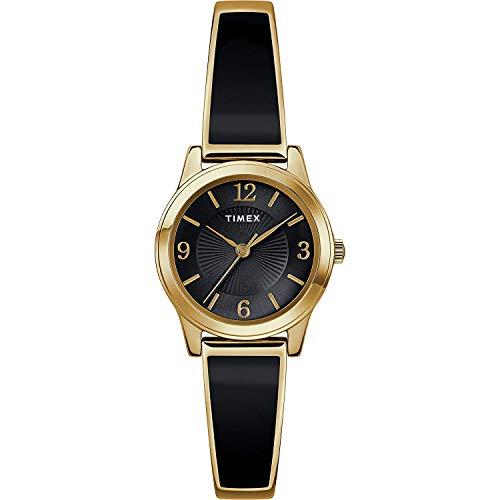 Timex Damen Analoger Quarz Uhr mit Edelstahl Armband TW2R92900
