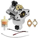 Piezas para cortacésped Carburador Se Adapta a Kohler Motores Carbo Modelo CV15S 41523 15HP Carburador Fits para Kohler CV460S John Deere LX266 132033 (Color : Silver)