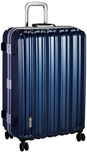 [シフレ] スーツケース ハードフレーム シンプルデザイン B1116T-67 保証付 90L 67 cm 5.5kg メタリックブルー