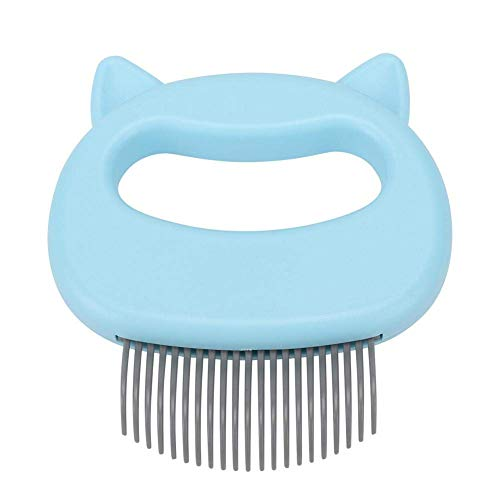 MOMSIV Cat Comb Massager Pet Hair Removal Massaging Shell Comb Massage Tool for Removing Matted Fur,...