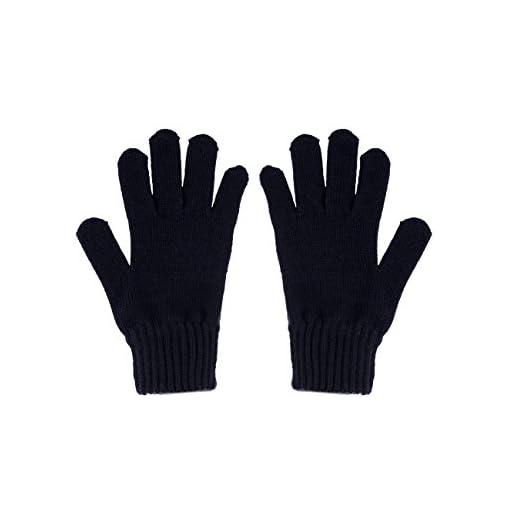 maximo-Fingerhandschuh-Strick-Einfarbig-Gloves