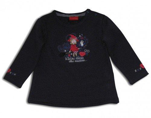 SALT aND pEPPER baby-shirt de sorcière sur son balai - Violet - 6 mois
