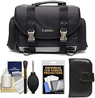 Canon 200DG Digital SLR Camera Case - Gadget Bag + Kit for Canon EOS 6D, 7D, 77D, 80D, 5DS R, 5D Mark II III IV, Rebel T6, T6i, T6s, T7i, SL1, SL2