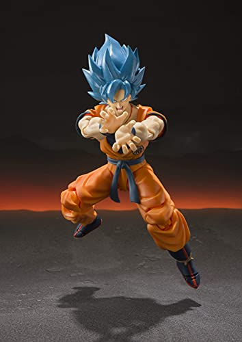 TAMASHII Nations Bandai S.H. Figuarts Super Saiyan God Super Saiyan Goku Dragon Ball Super: Broly Action Figure -  EARUELETRIC, SHF-SWKLF-1PC