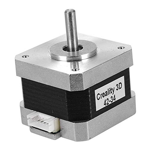 DIY 3D Printer Stepper Motor 42-40/42-34 2 Phase 0.8A, 1.8 Degree Step Angle, 0.4n.M Holding Torque - 42x42x34mm