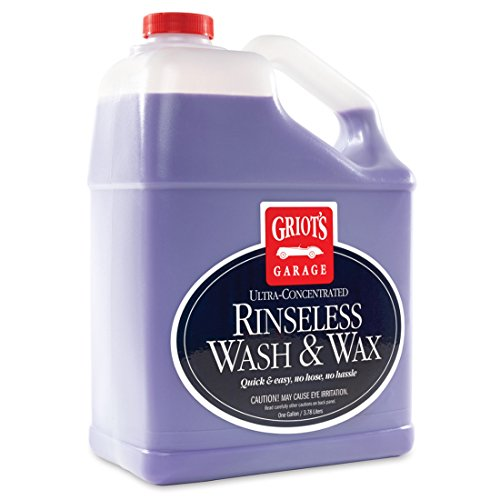 Griot's Garage 10497 Rinseless Wash and Wax Gallon, 1