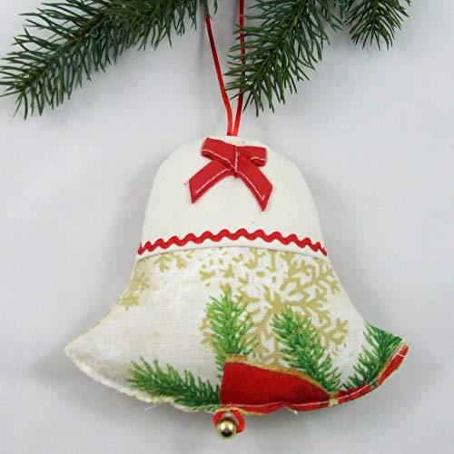 Campana Adorable, Rosa de Navidad, HomeAtelier Decoración Textil, el Mejor Regalo para Hermosa Cocina, Decoración...