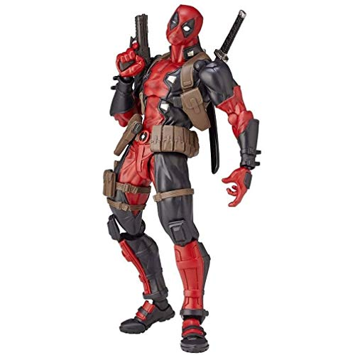 Action Figur Actionfiguren Deadpool Action Figure Superheld Film Anime PVC Figur Bewegliche Zeichen Modell Statue Spielzeug Desktop Ornamente