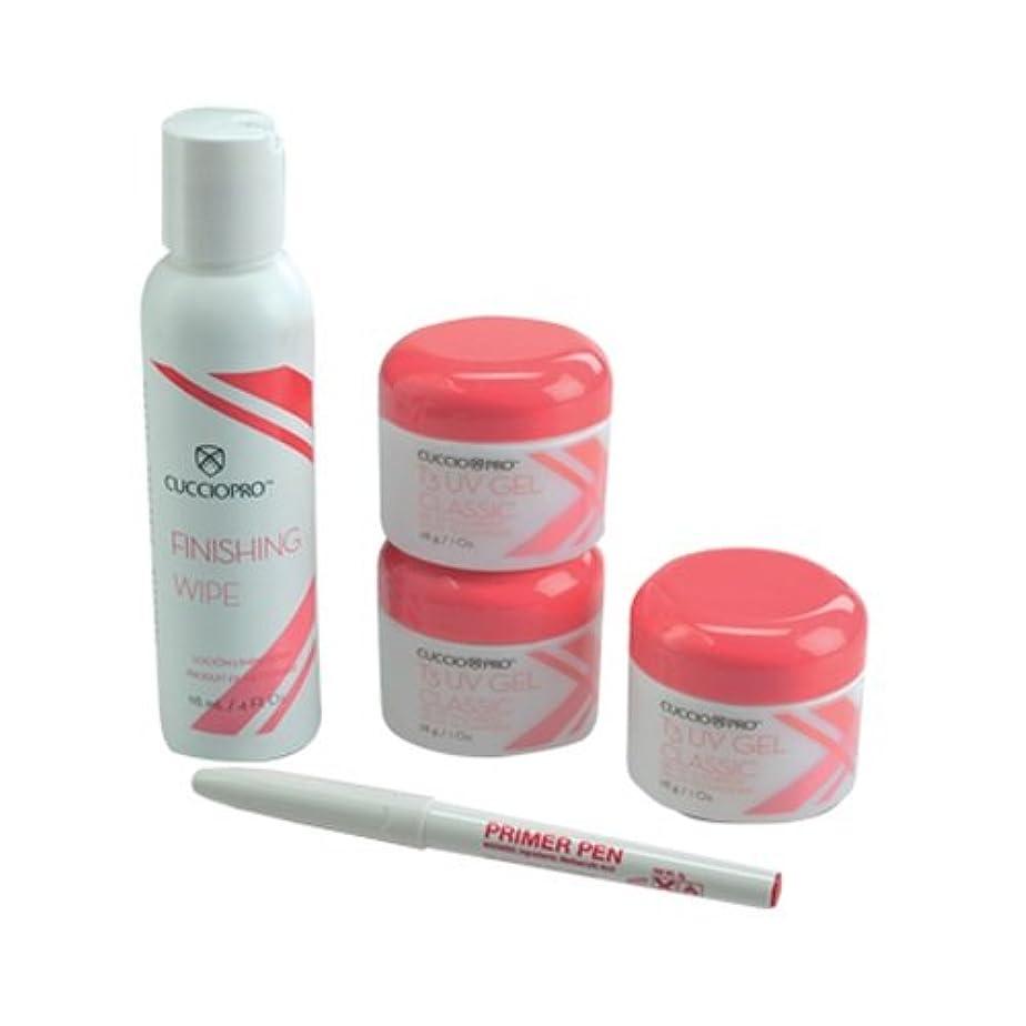 ショット堤防人に関する限りCuccio Pro - T3 UV Gel Kit - Basic