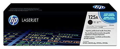 HP 125A (CB540A) Schwarz Original Toner für HP Color Laserjet CP1215, CP1515, CM1312