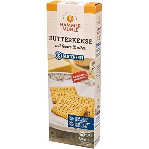 Hammermühle Butterkekse, glutenfrei (125 g) - Bio