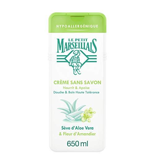 Le Petit Marseillais Douche et Hypoallergénique Aloe Fleur Amandier 650 ml