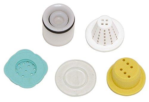 'aquaSu® Durchflussbegrenzer- und Rückflussverhinderer-Set | Inklusive Schmutzfangsieb
