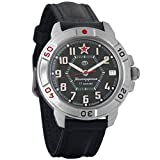 Vostok Komandirskie Commander Russian Army Mens Mechanical Military Wrist Watch #431744