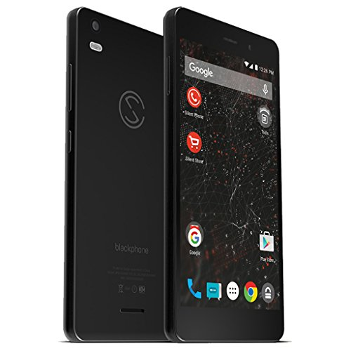 Silent Circle Blackphone 2 BP2 32GB Factory Unlocked Encrypted & Secure 4G/LTE Smartphone (Silent Phone + 100 Min. Silent World Subscription)