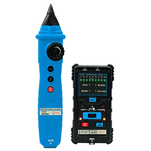 Price comparison product image Bside FWT01 Network LAN Ethernet Wire Tracker Finder Meter Telephone Line Cable Tester