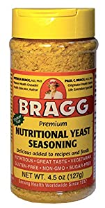 Bragg Premium Nutritional Yeast Seasoning 4.5 Ounce (Packaging May Vary)