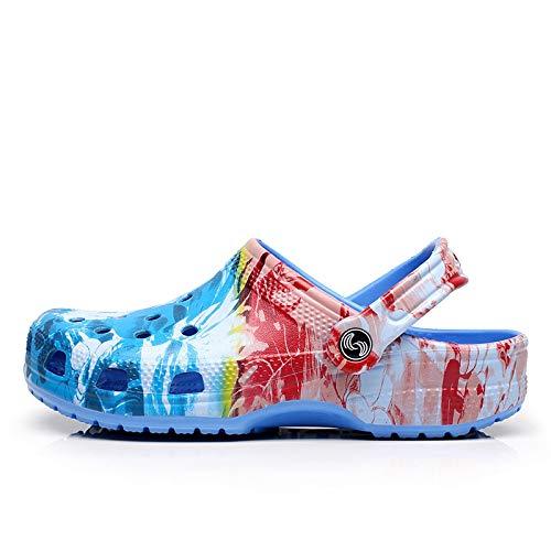 GFITNHSKI Sandalias de jardín Ligeras, Zapatos sin Cordones para niños y niñas, Pantuflas de Ducha de Playa para Piscina, Zapatos de Agua Zapatillas de Deporte Zuecos Zapatos de jardín deslizantes