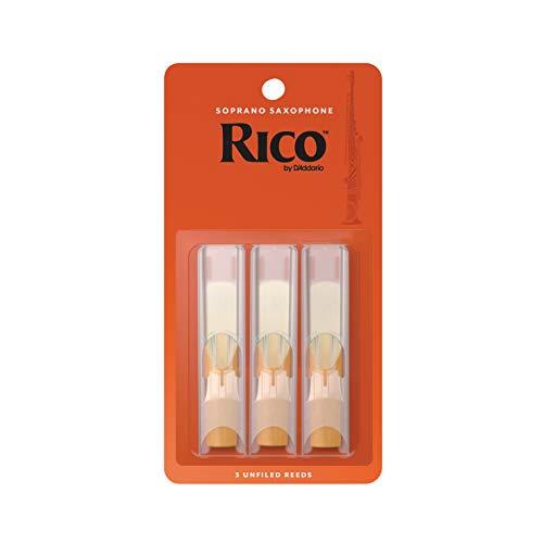 RICO Blätter für Sopransaxophon Stärke 2.0 (3 Stück)