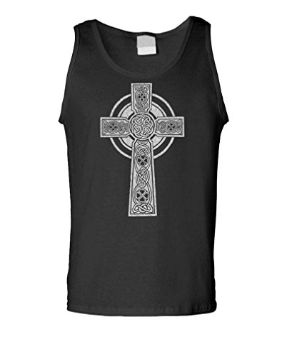 Celtic Cross - Tank Top, Black, Medium
